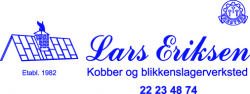 Blikkenslagermester Lars Eriksen